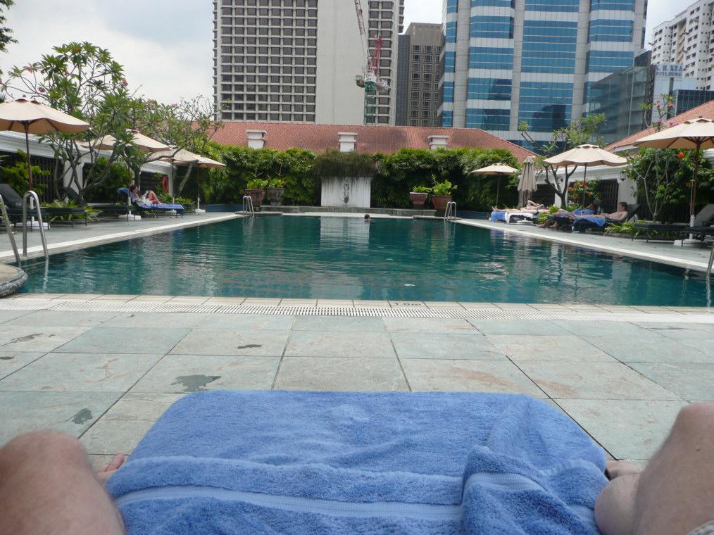 Singapore for Raffles hotel singapore swimming pool